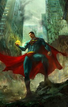 The Lost. A childhood Hero for all time.  A Fan art inspire by DC Universe Online.  Painted by Ivan TAO  DeviantART / Website