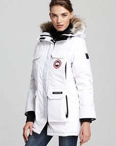 Canada Goose Expedition Parka. These coats are amazing. I wear it to work and on the water. Amazingly warm!