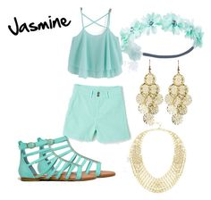 """Modern day Jasmine"" by angelica-infinity on Polyvore"