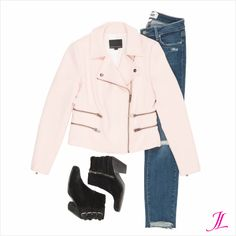 The popular Moto Jacket in Pink!!  This is my favorite moto from Banana Republic.  I share my other favorites on The Moto Jacket blog post.