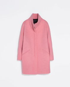 ZARA - WOMAN - BOUCLÉ COAT