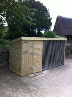 The Oakridge Dog Kennel | Pent Roof Dog Kennels