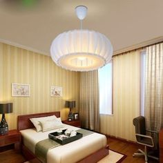 Fashion Brief Pendant Lamp Acrylic Ball Pendant Light Living Room Bedroom Restaurant Lamp