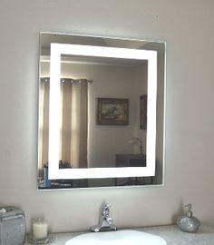 Halo Tall Led Light Bathroom Mirror 1416 Home Sweet Home Bathroom Bathroom Mirror