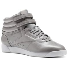 eba60c53da5 Shop for Freestyle Hi Iridescent - Grey at reebok.com. See all the styles