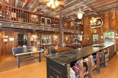 Saloon/party barn #countryliving #realestate