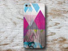 Fundas para móviles - Carcasa Triángulos sobre Madera iPhone 6 Galaxy - hecho a mano por michaelcase en DaWanda #Carcasas #iphone #móvil #fundasmovil #diseño #handmade #DaWanda #DIY #hechoamano