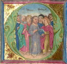 Furtmeyr, Berthold: Buchmalerei der Renaissance Gebetbuch - BSB Cgm 125,  Regensburg, 15. Jh. Folio