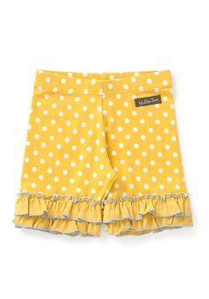School Bus Shorties - Matilda Jane Clothing