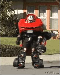 Fully working Transformers costume.  Must watch video.