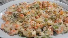 Aprenda a preparar a receita de Salada de legumes diferente