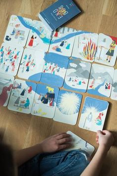 Kids Read Exodus Story Cards