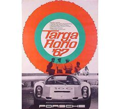 Targa Florio 1967 - design by Volz