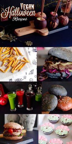 Vegan Halloween recipes compilation. Recopilación de recetas de Halloween Veganas. Reinas y Repollos