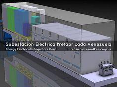 Subestaciones Electricas Prefabricadas de Media y Baja Tension Venezuela. Shelters para Celdas de Media Tension Venezuela.