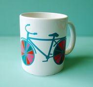 Bycicle mug.