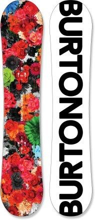 I totally don't snowboard, but if I did, this would so be my board!