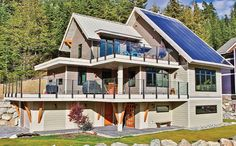 BC's first net zero home built by RDC FIne Homes in the Rainbow neighbourhood.