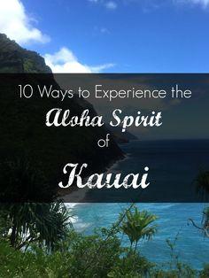 10 Ways to Experience the Aloha Spirit of Kauai   Anno a Milano