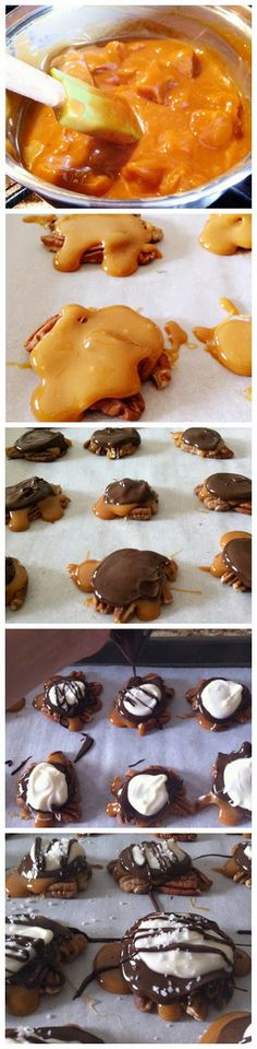 Salted Chocolate Caramel Clusters