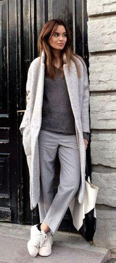 С чем носить пальто: классическое, оверсайз и другие. ФОТО | MODA блог