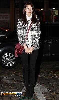 SNSD YoonA at the wrap-up party of 'The K2' Kim Hyoyeon, Yoona Snsd, Kpop Fashion, Asian Fashion, Airport Fashion, Kpop Girl Groups, Kpop Girls, Kwon Yuri, All American Girl