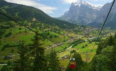 Stretching for more than 3.72 miles, the Grindelwald-Mannlichen Gondola Cableway in Switzerland is the longest in the world. (From: Photos: 7 Beautiful Cable Car Rides)