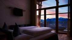 The Hotel Gitschberg in Meransen in South Tyrol is a boutique hotel in the middle of the mountain with a perfect location for skiing and hiking. Hay Barn, South Tyrol, A Boutique, Backdrops, Italy, Rustic, Architecture, Interior, Room