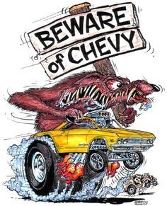 S Muscle Car Cartoon Artists Ed Roth