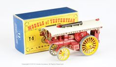 "Matchbox Models of Yesteryear No.Y9-1-13A Fowler Showmans Engine ""Lesney's Modern Amusements"""