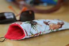 A Quilted Eyeglasses Case