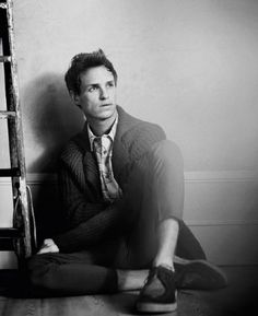 Eddie Redmayne...incredible talent in Les Miserables