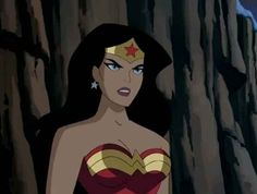 Wonder Woman from the old Justice League/Justice League Unlimited TV series