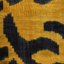 Oscar de la Renta Mustard/Black Abstract Printed Chenille Fabric by the Yard Chenille Fabric, Jacquard Fabric, Black Abstract, Abstract Print, Old Sofa, Make Your Own Clothes, Mood Fabrics, Fabric Textures, Home Decor Fabric