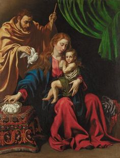 este es uno de pantings tristan luis nombradas la Sagrada Familia se creó en 1613 y fue popular.   the Minneapolis Institute of Arts acquired an important painting of the Holy Family by a great Spanish artist Luis Tristan. Tristan's name will probably not be familiar in this country because it was shockingly the only work by him in an American museum.  This painting is described of an evolution of Spanish Baroque painting made by himself.
