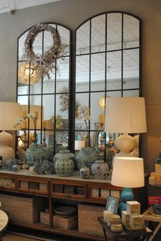 Mad for mirrors.......and a winner! - The Enchanted Home