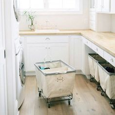 Get 3 FREE Laundry Room Designs + Shopping Lists:Postbox Designs Interior E-Design for Remodelaholic: Budget Farmhouse Laundry Room Makeover, online interior design Laundry Cart, Laundry Room Organization, Laundry Baskets, Laundry Bin, Laundry Sorting, Laundry Basket On Wheels, Laundry In Kitchen, Rolling Laundry Basket, Laundry Hacks