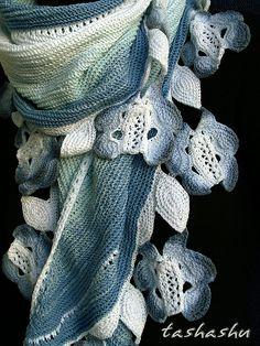 Ravelry: Shawl Meissen pattern by Svetlana Gordon