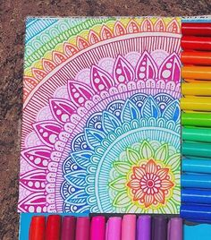 Doodle art 864128247234138927 - 40 Beautiful Mandala Drawing Ideas & Inspiration · Brighter Craft Source by Doodle Art Drawing, Mandalas Drawing, Zentangle Drawings, Art Drawings Sketches, Easy Mandala Drawing, Sharpie Drawings, Doodling Art, Sharpie Doodles, Nature Drawing