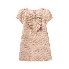 Girl Blush Bouclé Dress by Janie and Jack