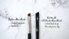 Review Kat Von D, Brow Brush, Health And Beauty, Sephora, Lifestyle Blog, Brows, Tattoo Quotes, Posts, Eyebrows
