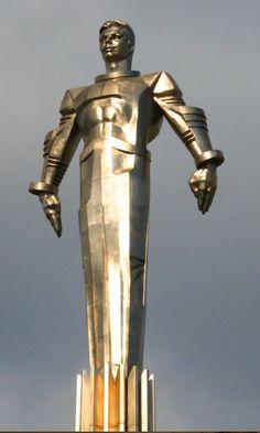 hismarmorealcalm:  Yuri Gagarin monument