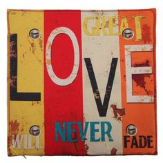 9 Styles 45x45cm Cotton Quote Cushion Pillow Covers Creative letters Pattern (FREE SHIPPING)