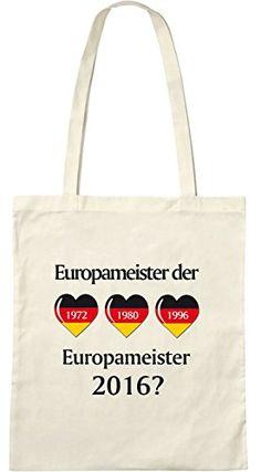 Europameister der Herzen; Stofftasche weiß