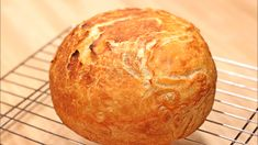 This is the easiest bread (ez bread) you will ever make. Needs just 4 ingredients (dry yeast, flour, water, salt) and 30 minutes of baking. Don't be afraid to make your own homemade bread. Bread Recipe Video, Yeast Bread Recipes, Quick Bread Recipes, Easy Bread, Recipe Videos, Dutch Oven Bread, Dutch Oven Recipes, Cooking Recipes, How To Make Sandwich
