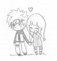 LáPiz De, Dibujos, Parejas De Anime         , Arte De, Arte Del LáPiz, Kawaii 3, Ahora, Naruhina Kawaii, Naruto Pencil