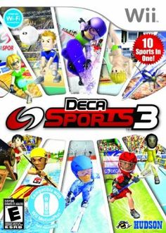 Deca Sports 3 (Nintendo Wii, for sale online Wii Motion Plus, Xbox, Diving Springboard, Wii Sports, Playstation Portable, Sport One, Fun Games For Kids, Wii Games, Game Sales