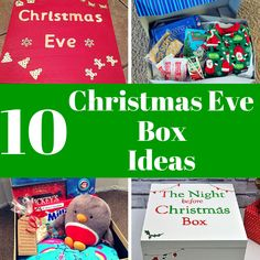 christmas eve Fancy doing something a bit different and unique this Christmas Check out these 10 Christmas Eve Box Ideas. Christmas Eve Box For Kids, Night Before Christmas Box, Xmas Eve Boxes, Childrens Christmas, Christmas Gift Box, Family Christmas, Christmas Presents, Holiday Fun, Christmas Holidays