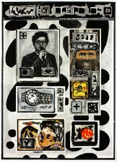 "Saatchi Art Artist Ahmed Borai; Painting, ""Warehouse world wide.clockwork.tic"" #art"