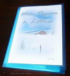 Papier à lettres réalisé à partir des  photos de paysages de montagne de Céline Photos Art Nature Photo Art, Nature, Etsy, Little Gifts, Letters, Landscapes, Handmade Gifts, Naturaleza, Nature Illustration